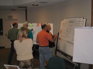 WICC Board During Strategic Planning Workshop